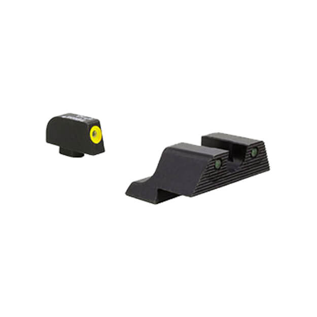 Trijicon Glock HD XR Night Sight Set - Yellow Front Outline 9mm,.40,.45,.357 & .380