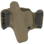 """HR Holster S&W M&P Pro 5"""" 9/40 Right Hand - E2 Tan"""