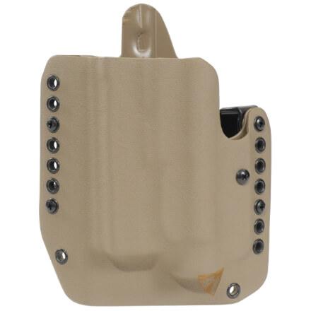 Alpha Holster Glock 26/27/33/28 w/TLR6 Left Hand - E2 Tan