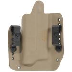 Alpha Holster Glock 34/35 w/X300U Left Hand - E2 Tan