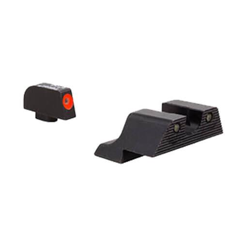 Trijicon Glock HD XR Night Sight Set - Orange Front Outline 10mm & 45 Auto