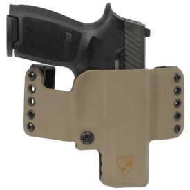 HR Vertical Holster SIG P320C/P320 SUB Right Hand - E2 Tan