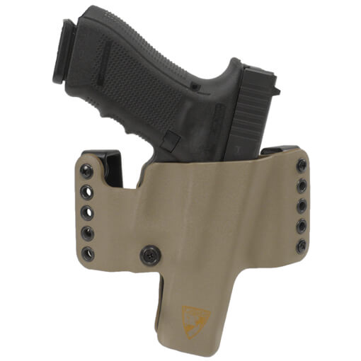 HR Holster Glock 17/22/31/47 Right Hand - E2 Tan