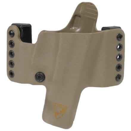 """HR Holster 1911 5"""" w/Rail Right Hand - E2 Tan"""
