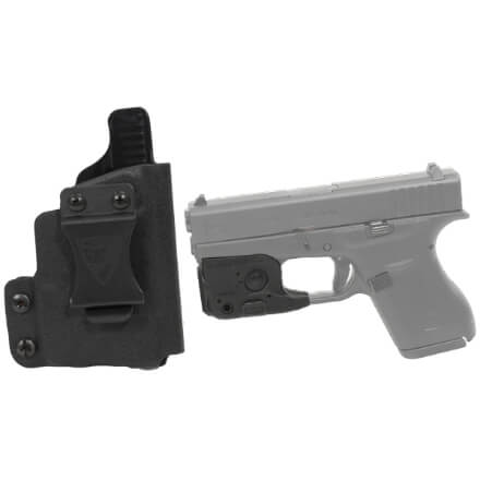 DSG CDC Glock 42 RH BLK includes Streamlight TLR-6 Glock 42/43 Tactical Light - Black