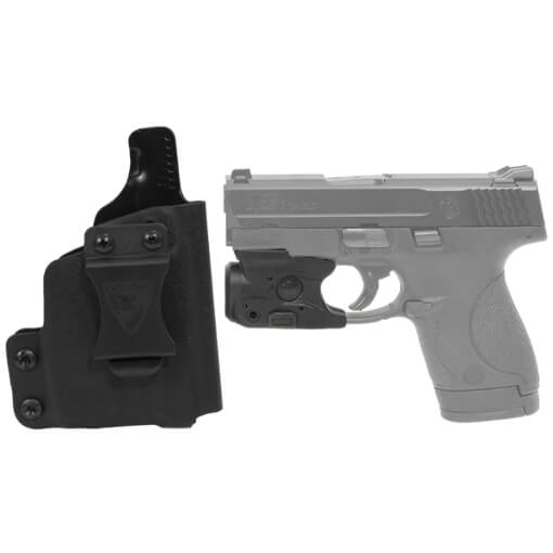 DSG CDC S&W M&P Shield Holster RH BLK includes Streamlight TLR-6 M&P Shield Tactical Light / Laser