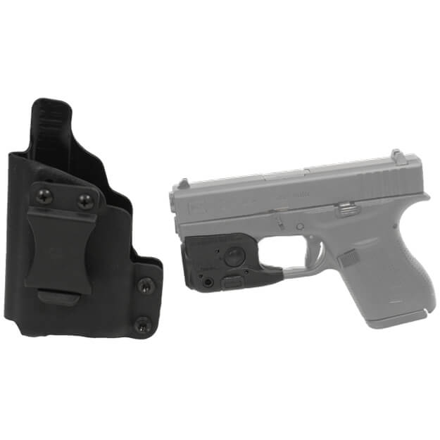 DSG CDC Glock 42 LH BLK includes Streamlight TLR-6 w/ Laser Glock 42/43 Tactical Light - Black