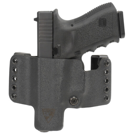 HR Vertical Holster Glock 19/23/32 Left Hand - Black