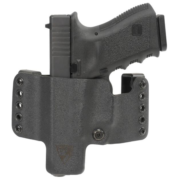 HR Vertical Holster Glock 19/23/32 Left Hand - Black