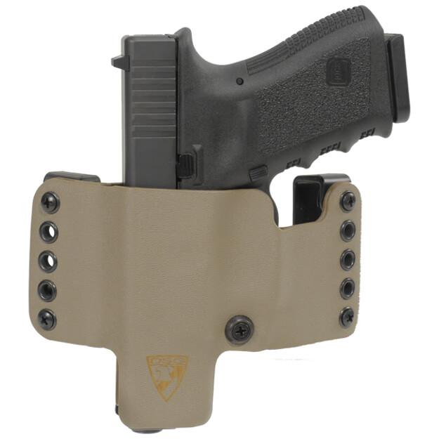 HR Vertical Holster Glock 19/23/32 Left Hand - E2 Tan