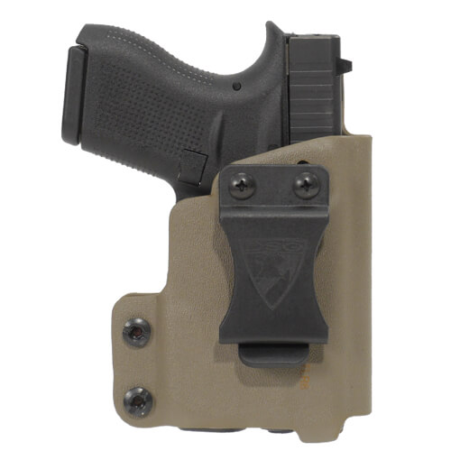 CDC Holster Glock 42 w/ TLR6 Right Hand-E2 Tan