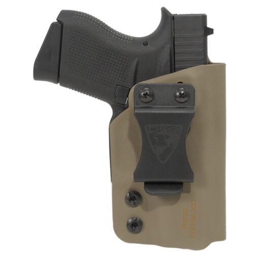 CDC Holster Glock 43/43X Right Hand - E2 Tan