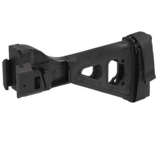 SB Tactical SBT Scorpion Evo Side Folding Pistol Brace - Black