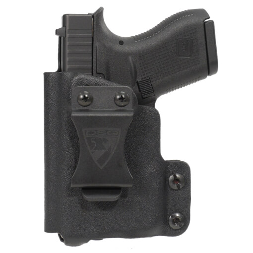 CDC Holster Glock 42 w/ TLR6 Left Hand-Black