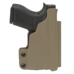 CDC Holster Glock 42 w/ TLR6 Left Hand E2 Tan