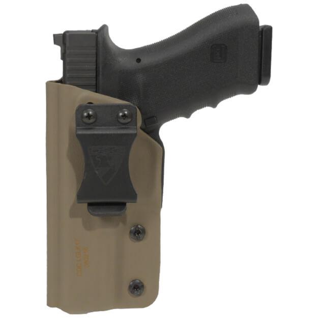 CDC Holster Glock 17/22/31/47 Left Hand - E2 Tan