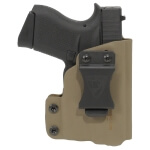 CDC Holster Glock 43/43X w/ TLR6 Right Hand - E2 Tan
