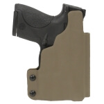 CDC Holster S&W M&P Shield w/ TLR6 Left Hand-E2 Tan
