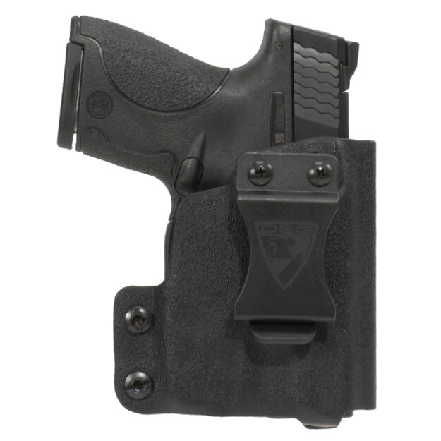 CDC Holster S&W M&P Shield w/ TLR6 Right Hand-Black