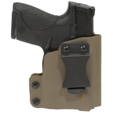 CDC Holster S&W M&P Shield w/ TLR6 Right Hand-E2 Tan