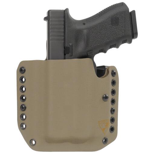 Alpha Holster Glock 19/23/32 w/XC1 Left Hand - E2 Tan