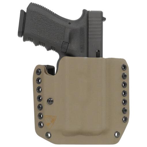 Alpha Holster Glock 19/23/32 w/XC1 Right Hand - E2 Tan