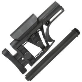 Luth-AR MBA-1 Black Stock w/ DSG AR Rifle Buffer Tube