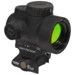 Trijicon 1x25 MRO 2 MOA Adjustable Red Dot w/ Geissele MRO Lower 1/3 Mount