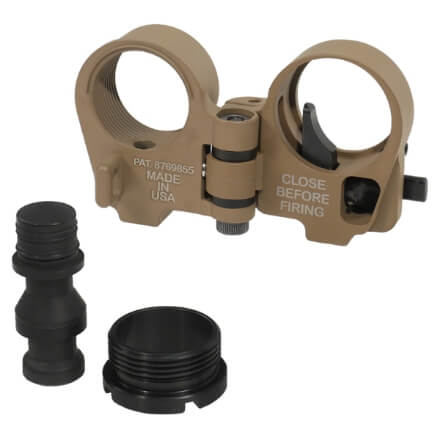 Law Tactical Folding Stock Adapter - Gen 3-M - Flat Dark Earth