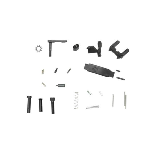 DSG AR Lower Receiver Parts Kit w/ Ambi Selector - No Trigger Parts