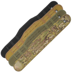 High Speed Gear LASER Sure Grip Padded Belt - SLOTTED