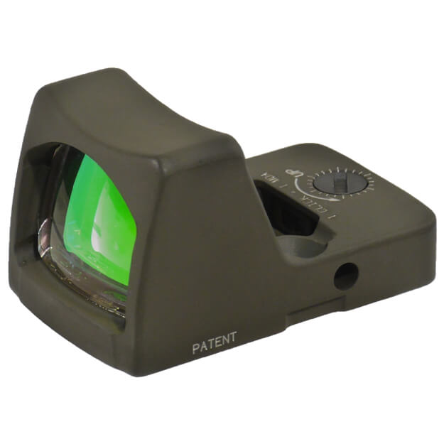 Trijicon RM01-C-700623 RMR Type 2 - 3.25 MOA Red Dot - Cerakote Olive Drab Green