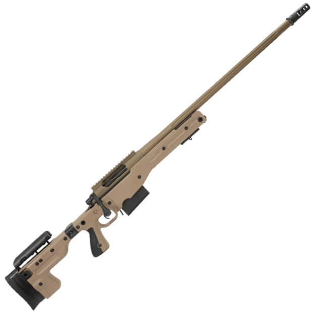 Tac Pro Stiller 338 Lapua Rifle w/ AI AT Stock and 1 5rd Magazine