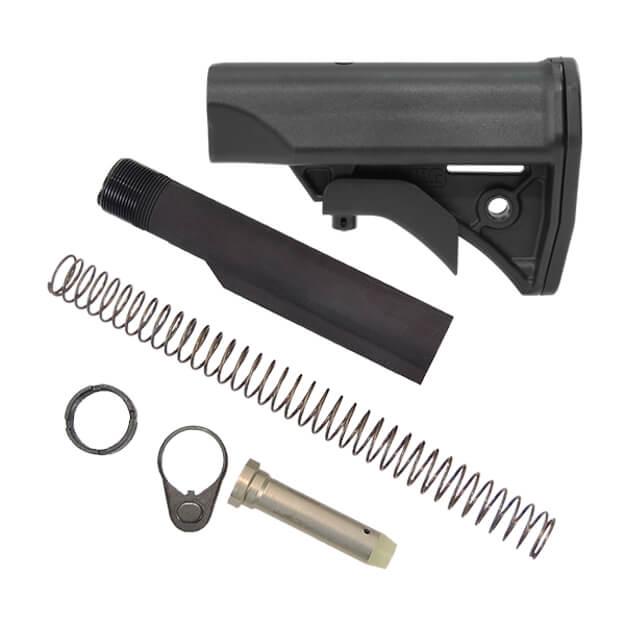 LWRC Compact Stock Kit Milspec - Black