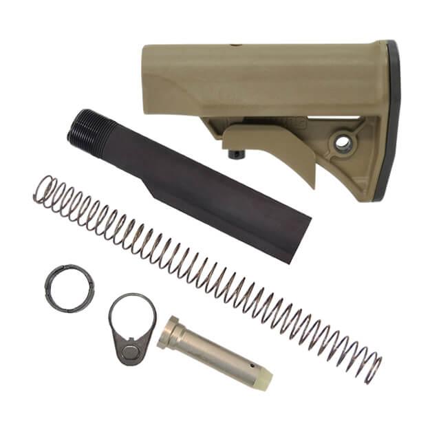 LWRC Compact Stock Kit Milspec - Dark Earth