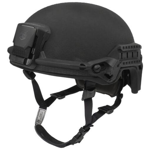 Revision Batlskin Viper P2 High Cut Helmet w/ MSS, Front Mount, & Long Rails - Black - Large
