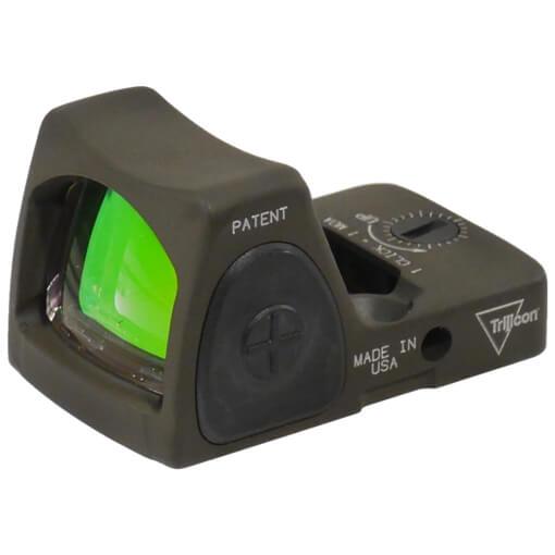 Trijicon RMR Type 2 - Adjustable 6.5 MOA Red Dot - Cerakote Olive Drab Green