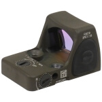 Trijicon RMR Type 2 - Adjustable 1 MOA Red Dot - Cerakote Olive Drab Green
