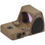Trijicon RMR Type 2 - Adjustable 1 MOA Red Dot - Cerakote Dark Earth