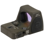 Trijicon RM06-C-700695 RMR Type 2 - Adjustable 3.25 MOA Red Dot - Cerakote Olive Drab Green