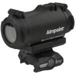 Aimpoint Micro H-2 2 MOA w/ Geissele APT1 Co-Witness T1 Mount - Black