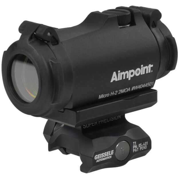 Aimpoint Micro H-2 2 MOA w/ Geissele APT1 Co-Witness T1 Mount - Black