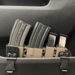 Ranger Rack w/ Magazine Carriers - E2 Tan