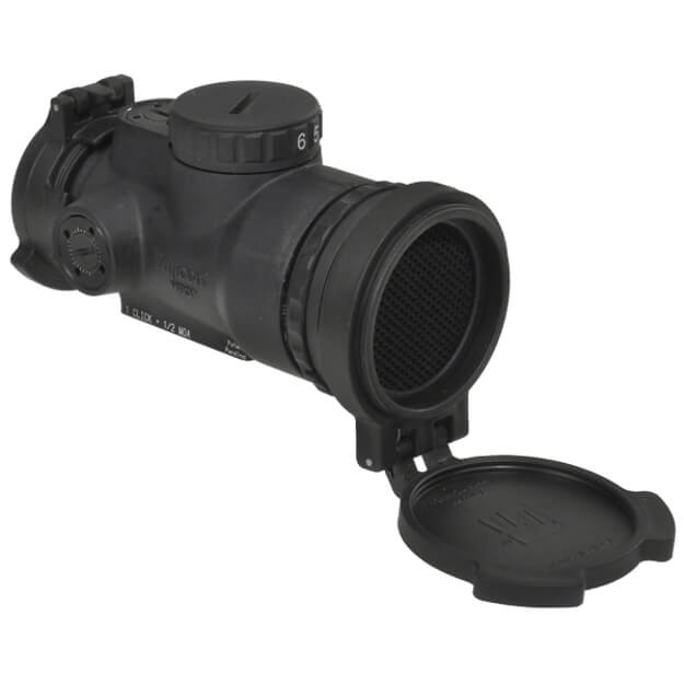 Trijicon 1x25 MRO Patrol 2 MOA Adjustable Red Dot - No Mount