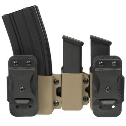 Mini Ranger Rack w/ Magazine Carriers - E2 Tan