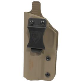 "CDC Holster Springfield XD-S 3.3"" 9/40/45 Left Hand - E2 Tan"