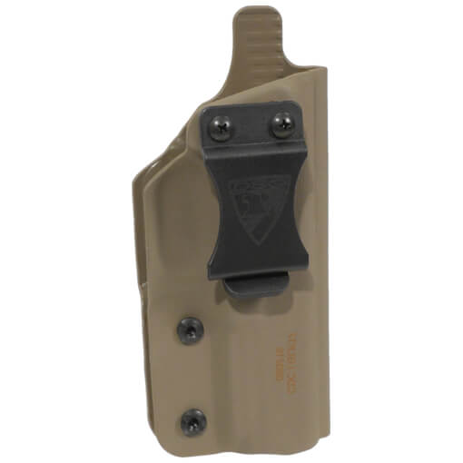 "CDC Holster Springfield XD-S 3.3"" 9/40/45 Right Hand - E2 Tan"