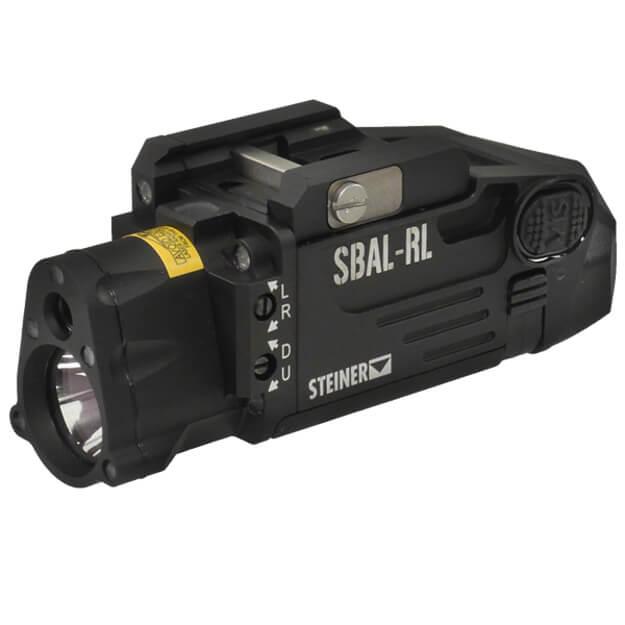 Steiner SBAL-RL Rifle Laser and Light Combo - Black