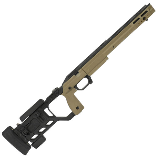 Kinetic Research Group Whiskey-3 Folding Rem 700 Short Action AICS Chassis - Dark Earth