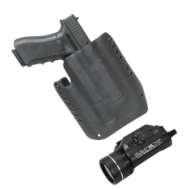 Alpha Holster LH Black for GLOCK 17/19 includes STL69260